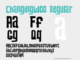 ChangingW00 Regular Version 1.1图片样张