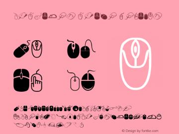 computer mouse Regular Version 1.00 April 13, 2017, initial release图片样张