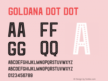 Goldana Dot Dot Unknown图片样张