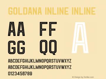 Goldana Inline Inline 001.000图片样张