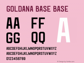 Goldana Base Base Unknown图片样张