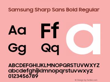 Samsung Sharp Sans Bold Font Family|Samsung Sharp Sans Bold