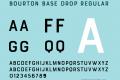 Bourton Base Drop Font,BourtonBaseDrop Font,Bourton Font