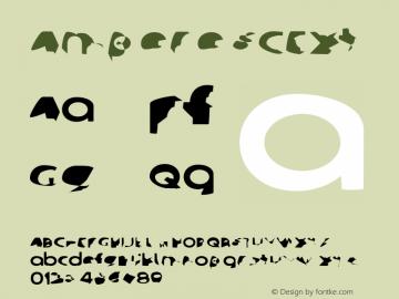 Ampere SCExt Version 1  Font Sample