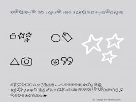 subset of Manu Pro Symbol Regular Version 001.000图片样张