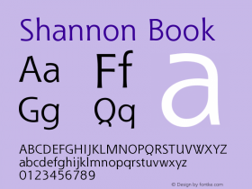 Shannon Book Version 001.000图片样张