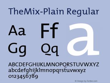 TheMix-Plain Altsys Metamorphosis:6/15/00图片样张