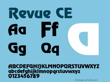 Revue CE Version 001.000图片样张