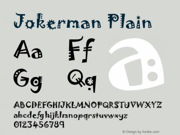 JokermanPlain Version 001.000图片样张