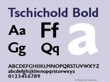 Tschichold Bold 002.000图片样张