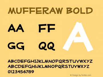 Mufferaw-Bold Version 2.201 2004 Font Sample