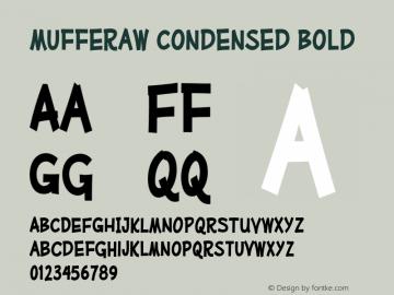 MufferawCd-Bold OTF 3.000;PS 001.001;Core 1.0.29 Font Sample