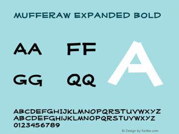 MufferawXp-Bold OTF 3.000;PS 001.001;Core 1.0.29 Font Sample