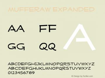 MufferawXp-Regular OTF 3.000;PS 001.001;Core 1.0.29 Font Sample