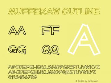MufferawOl-Regular OTF 3.000;PS 001.001;Core 1.0.29 Font Sample