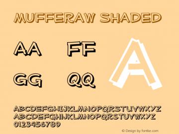 MufferawSh-Regular OTF 3.000;PS 001.001;Core 1.0.29 Font Sample