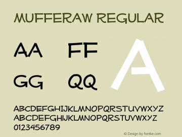 MufferawRg-Regular OTF 3.000;PS 001.001;Core 1.0.29 Font Sample