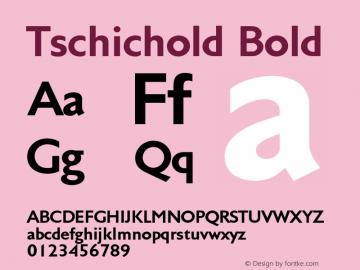 Tschichold-Bold 001.000图片样张