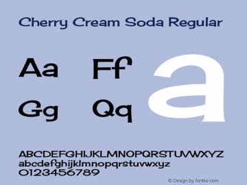 Cherry Cream Soda Regular Version 1.001图片样张