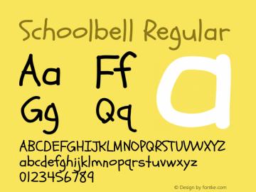 Schoolbell Regular Version 1.001图片样张
