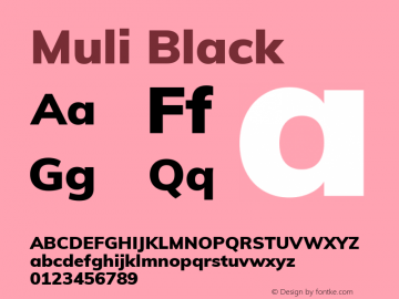 Muli Black Version 2.000图片样张