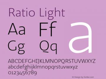 Ratio-Light 1.001图片样张