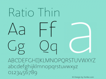 Ratio-Thin 1.001图片样张