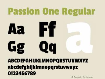 Passion One Regular Version 1.002图片样张