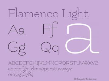 Flamenco Light Version 1.003图片样张