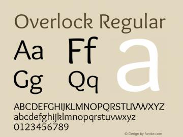 Overlock Regular Version 1.002图片样张