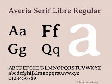 Averia Serif Libre Regular Version 1.002图片样张