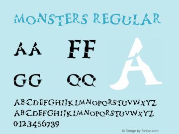 Monsters Version 1.000;PS 001.001;hotconv 1.0.56图片样张