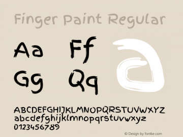 Finger Paint Regular Version 1.002图片样张