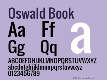 Oswald Version 1.000图片样张