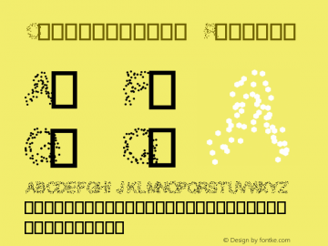 Confetti0000 Version 0.1图片样张