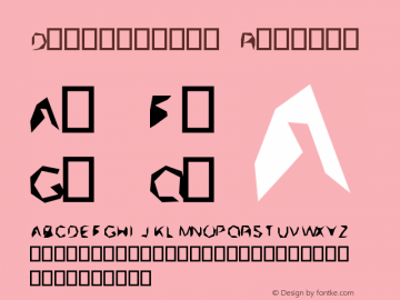 Distort0000 Version 0.1图片样张