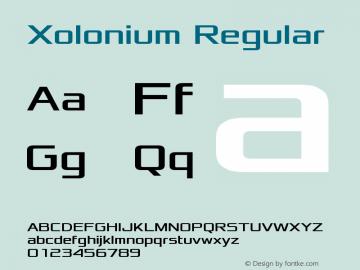 Xolonium Version 2.0图片样张