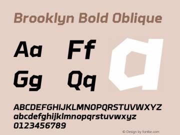 BoldOblique 1.110图片样张