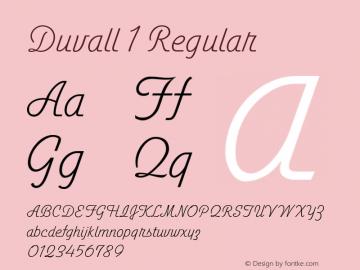 Duvall1 图片样张