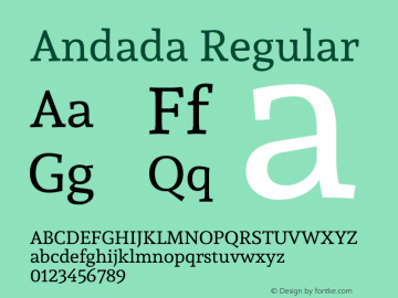 Andada Version 1.003图片样张