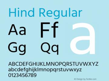 Hind Regular Version 2.001;PS 1.0;hotconv 1.0.79;makeotf.lib2.5.61930; ttfautohint (v1.5.33-1714) -l 8 -r 50 -G 200 -x 13 -D latn -f deva -w G -W -c -X