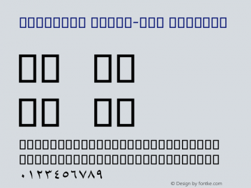 Mj_Liner Print-out Regular Version 1.10图片样张