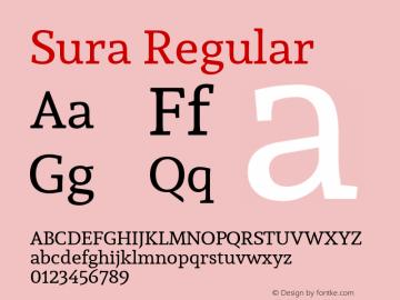 Sura Version 1.002图片样张