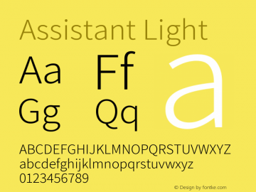 Assistant-Light Version 2.001图片样张