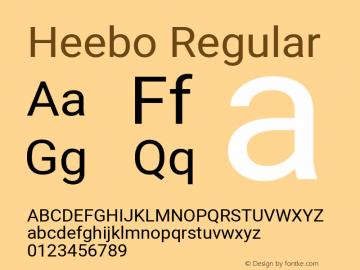 Heebo-Regular Version 2.001; ttfautohint (v1.5.14-ce02) -l 8 -r 50 -G 200 -x 14 -D hebr -f latn -w G -W -c -X
