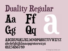 Duality-Regular Version 5.000图片样张