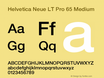 HelveticaNeueLTPro-Md Version 1.000;PS 001.000;hotconv 1.0.38图片样张