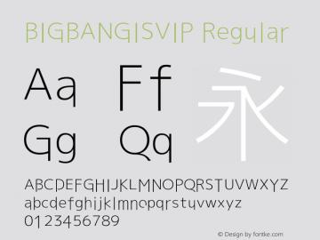 BIGBANGISVIP Version 1.20 October 6, 2015图片样张