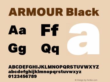 ARMOUR Black Version 1.000图片样张