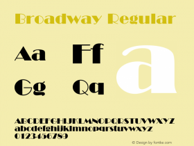 Broadway Version 1.2图片样张